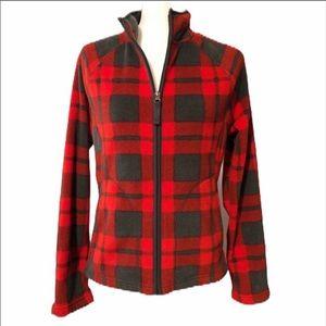 Merona soft fleece plaid jacket